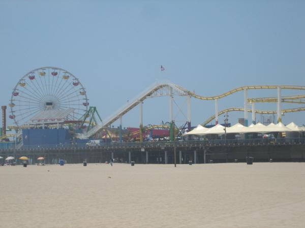 The pier.